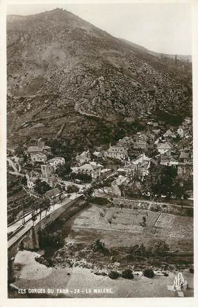 "CPSM FRANCE 48 ""Les Gorges du Tarn, la Malene"""