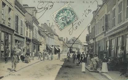"""/ CPA FRANCE 18  """"Nérondes, la grande rue"""""""