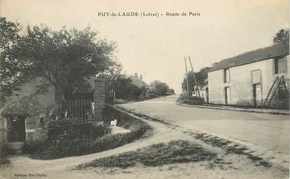 """CPA FRANCE 45 """"Puy la Laude, rte de Paris"""""""