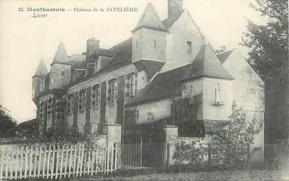 """CPA FRANCE 45 """"Montbarrois, chateau de la Javelière"""""""