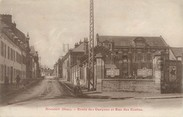 """60 Oise / CPA FRANCE 60 """"Breteuil, école des garçons et rue des écoles"""""""