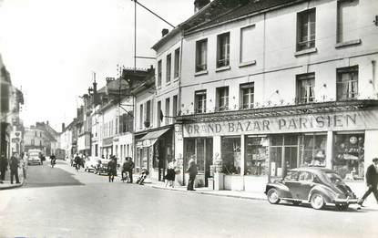 """/ CPSM FRANCE 60 """"Crépy en Valois, rue de Paris"""""""