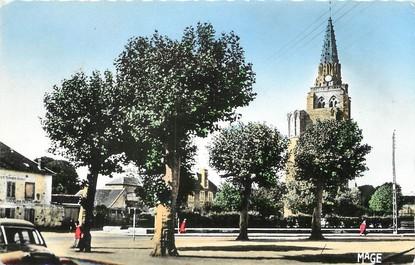 """/ CPSM FRANCE 60 """"Crépy en Valois, l'église Saint Thomas"""""""