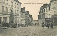 """60 Oise / CPA FRANCE 60 """"Clermont entrée de la rue des Fontaines"""""""