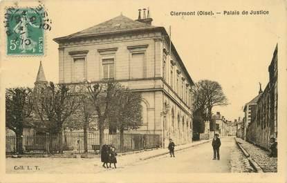 """/ CPA FRANCE 60 """"Clermont, palais de justice"""""""
