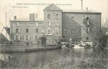 Cpa france 60 saint omer en chauss e moulin des forges for Liste communes oise