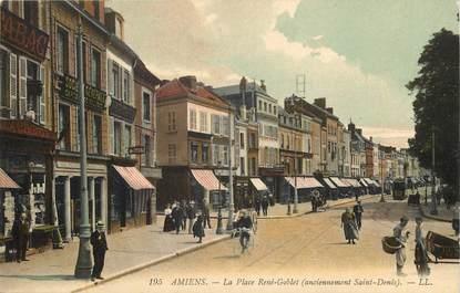 "CPA FRANCE 80 ""Amiens, place René Goblet"""