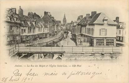 "CPA FRANCE 80 ""Amiens, la rue des Majots"""
