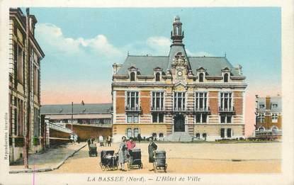 """/ CPA FRANCE 59 """"La Bassée, l'hôtel de ville"""""""