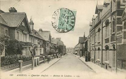 "CPA FRANCE 80 ""Amiens, avenue de Londres"""