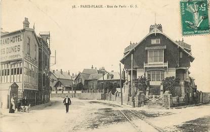 """CPA FRANCE 62 """"Le Touquet Paris Plage, rue de Paris"""""""