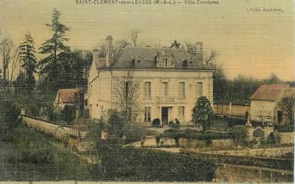 """CPA FRANCE 49 """"Saint Clément des Levées, villa Combres"""""""
