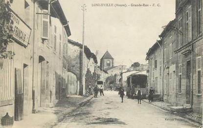 "/ CPA FRANCE 55 ""Longeville, grande rue"""