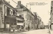 """77 Seine Et Marne CPA FRANCE 77 """"Rozoy en Brie, rue de Paris, Hotel de France"""""""