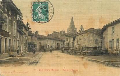 """/ CPA FRANCE 55 """"Damvillers, rue de l'église"""""""