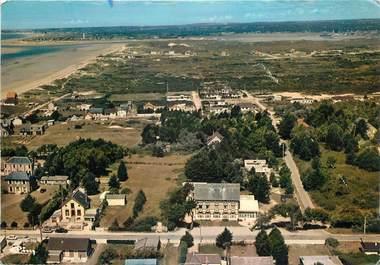 """/ CPSM FRANCE 50 """"Denneville plage, vue générale aérienne"""""""