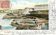 """64 PyrÉnÉe Atlantique CPA FRANCE 64 """"Biarritz, le port des pêcheurs """""""