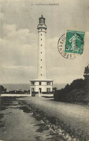 "CPA FRANCE 64 ""Biarritz, le phare"""