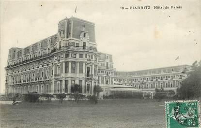 """CPA FRANCE 64 """"Biarritz, Hotel du Palais"""""""