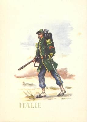 CPSM LA LEGION étrangère, un voltigeur de 1859