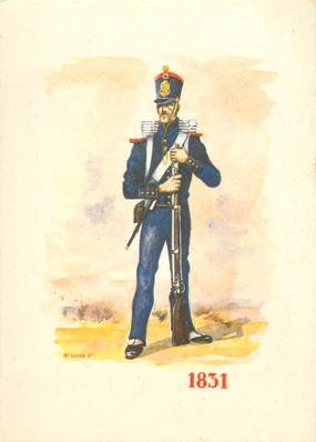 CPSM LA LEGION étrangère, premier légionnaire de 1831