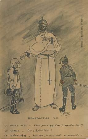 "CPA GUILLAUME II ""Benedictus XV"""