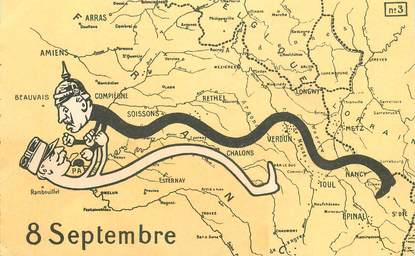 """CPA GUILLAUME II """"8 septembre"""""""