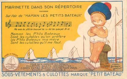 CPA ILLUSTRATEUR B. MALLET / PUBLICITÉ