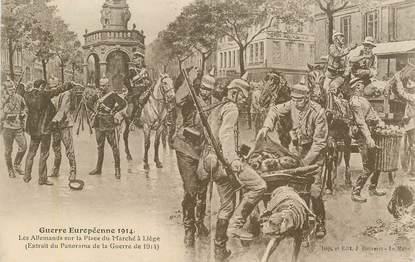 CPA MILITAIRE  / Guerre européenne 1914