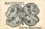 """13 Bouch Du Rhone CPA FRANCE 13 """"Martigues, Porte Bonheur"""""""