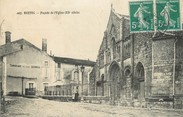 "16 Charente / CPA FRANCE 16 ""Ruffec, façade de l""église"""