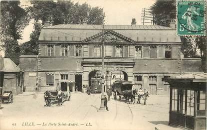 """CPA FRANCE 59 """"Lille, la Porte Saint André"""""""
