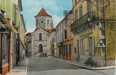 """/ CPSM FRANCE 16 """"Rouillac, rue de l""""église"""""""