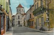 """16 Charente / CPSM FRANCE 16 """"Rouillac, rue de l""""église"""""""