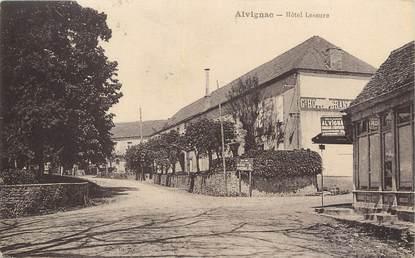 """/ CPA FRANCE 46 """"Alvignac, hôtel lescure"""""""