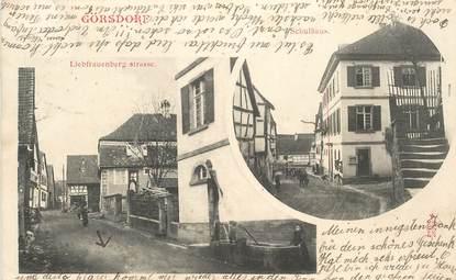 """CPA FRANCE 67 """"Görsdorf"""""""