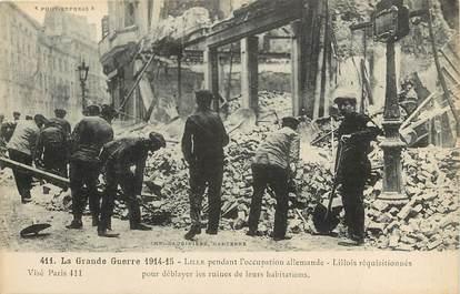 """CPA FRANCE 59 """"Lille, pendant l'occupation allemande, guerre de 1914"""""""