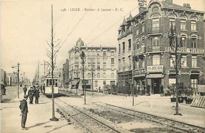 """CPA FRANCE 59 """"Lille, Bld Carnot"""""""