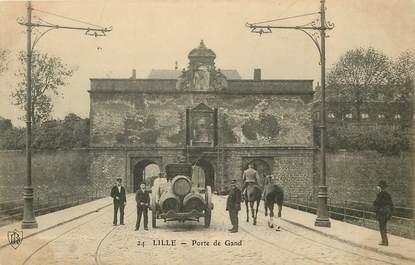"""CPA FRANCE 59 """"Lille, La Porte de Gand"""""""
