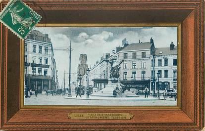 """CPA FRANCE 59 """"Lille, La place de strasbourg"""""""