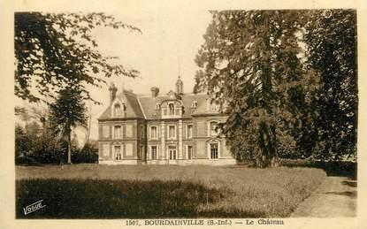 """/ CPA FRANCE 76 """"Bourdainville, le château"""""""
