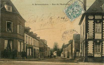 "/ CPA FRANCE 76 ""Bellemcombre, rue de l'audience"""
