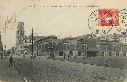 """CPA FRANCE 59 """"Lille, les Halles centrales"""""""