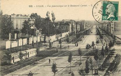 """CPA FRANCE 59 """"Lille, le bld Carnot"""""""