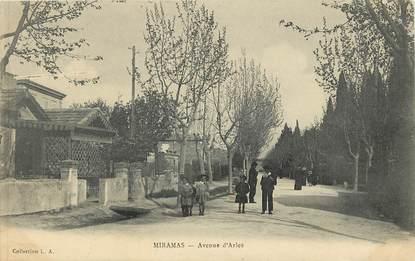 "CPA FRANCE 13 ""Miramas, l'avenue d'Arles"""