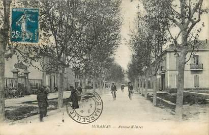 "CPA FRANCE 13 ""Miramas, avenue d'Istres"""