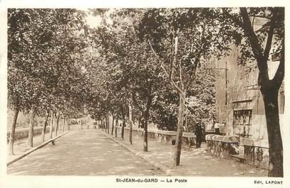 """/ CPA FRANCE 30 """"Saint Jean du Gard, la poste"""""""
