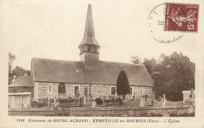 """/ CPA FRANCE 27 """"Epreville en Roumois, l'église"""""""