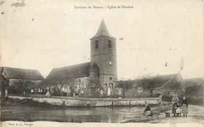 """/ CPA FRANCE 27 """"Eglise de Douains"""""""