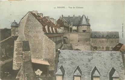 """CPA FRANCE 76 """"Dieppe, vue du chateau"""""""